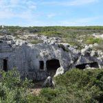 nécropole de Cala Morell à Minorque