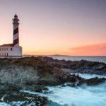 phare de favaritx à Minorque