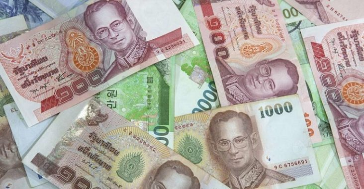 argent en thaïlande