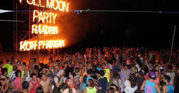 full moon koh phangan 2020