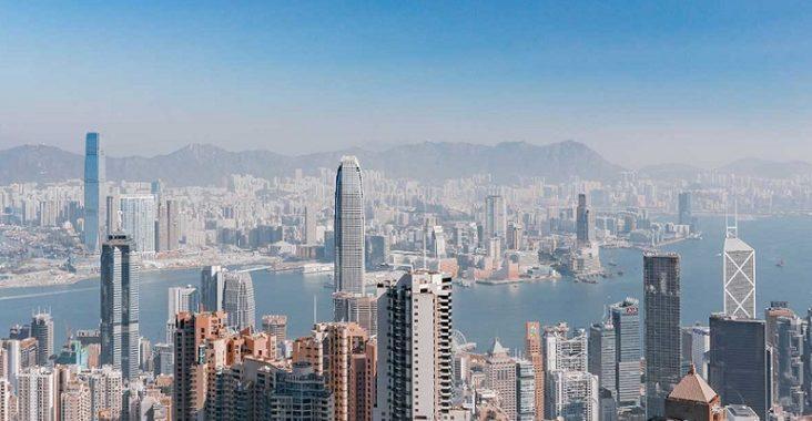 les 4 territoires de Hong Kong