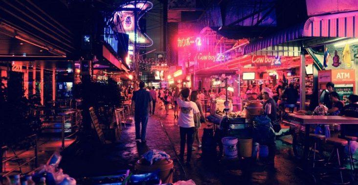 quartiers chauds à Bangkok