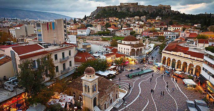 trajet aéroport Athènes au centre