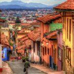 trajet aéroport Bogota au centre