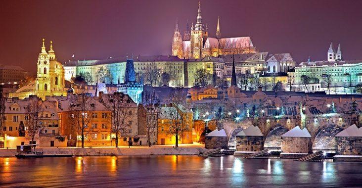 trajet aéroport de Prague au centre