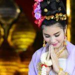 wai le salut thailandais
